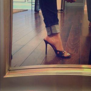 Charles David Slide on heels /mules